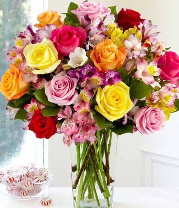 Resultado de imagem para ramalhete de flores