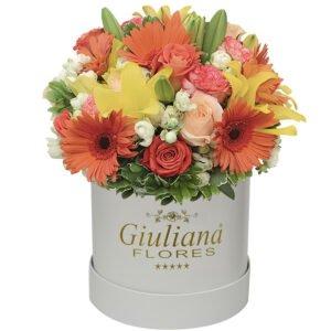 Decoração com Flores - Majestoso Mix de Flores Mistas White