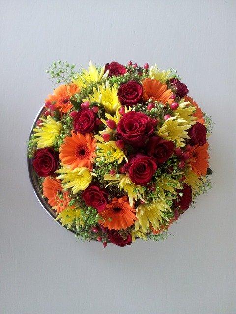Aposte em flores coloridas