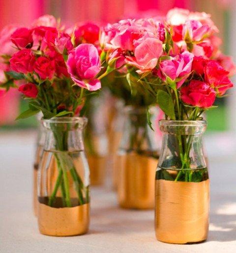 Arranjo de flores delicadas