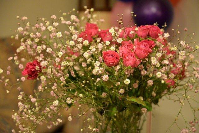 Tenha cuidado com a escolha das flores para o arranjo