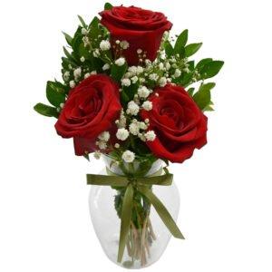 Charme de Rosas Vermelhas - Decorar a sala de estar