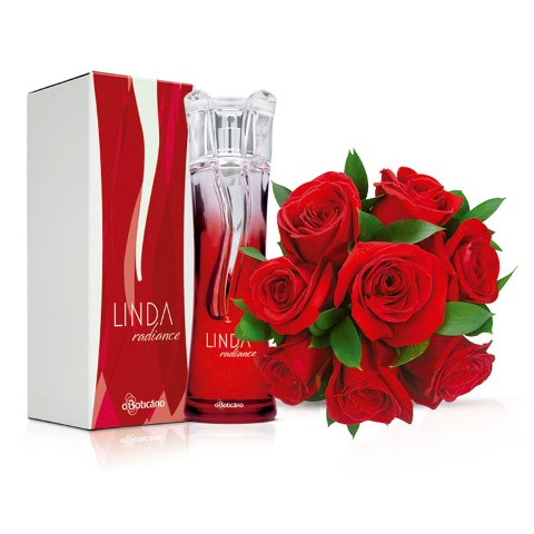Buquê de rosas e Perfume