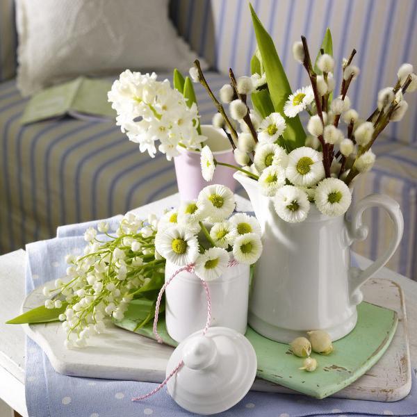 Chaleiras com Flores