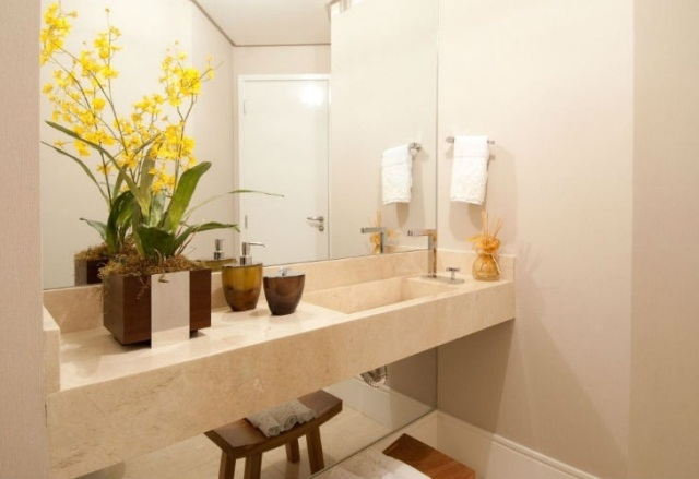 decoracao banheiro fotos : decoracao banheiro fotos:Confira Dicas de Como Decorar o Banheiro com Flores