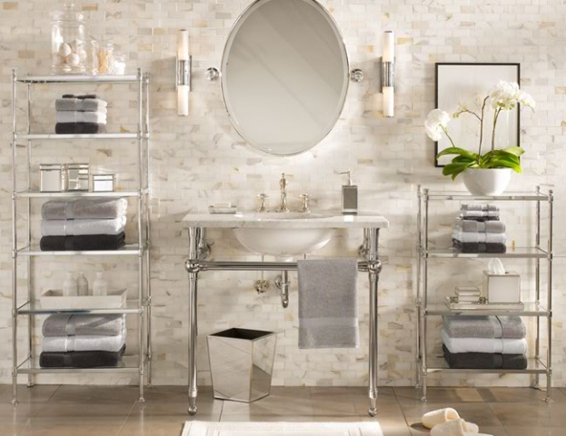 Decorar Baño Antiguo:Confira Dicas de Como Decorar o Banheiro com Flores