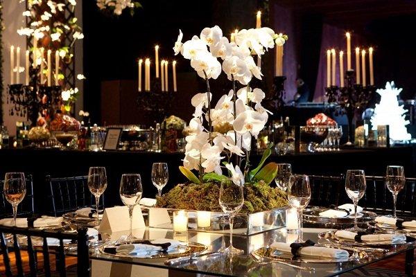 Decoração de casamento com orquídeas