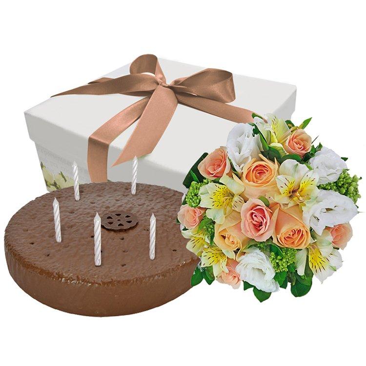 Felicidades Com Flores Nobres - presentes para aniversário