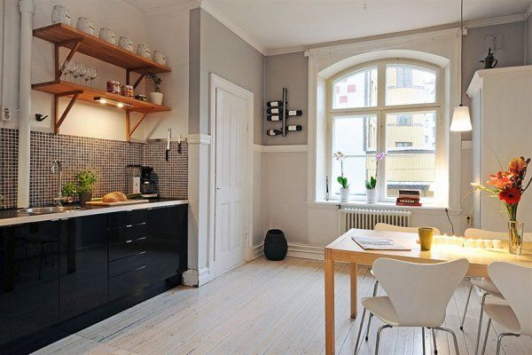 Aprenda a como decorar a cozinha com flores for Case in stile new england