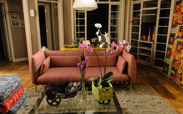 Orquídeas dentro de casa