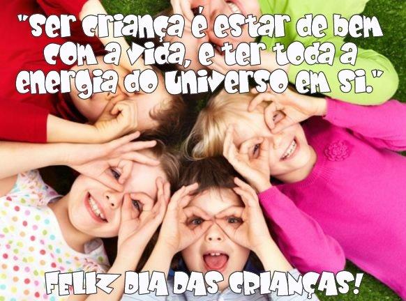 Mensagem de Dia das Crianças