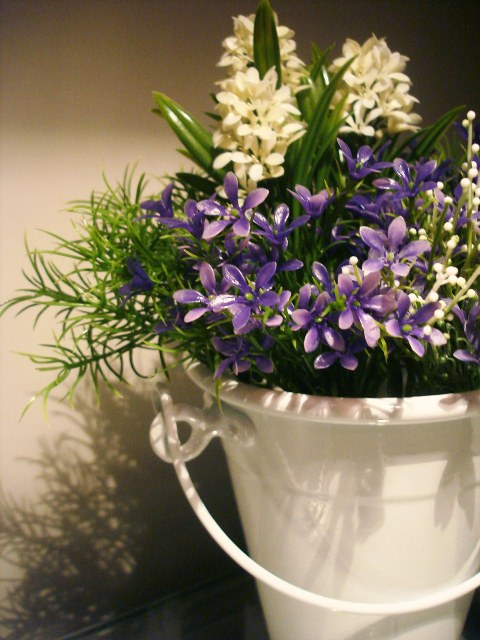 Vasinho de Flores Artificiais