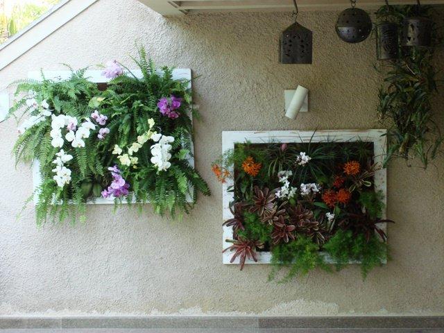 Arranjos de Flores para Mesa em forma de quadro