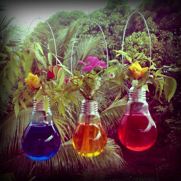 decoracao em lampadas : Arranjos de Flores para Mesa: 23 Arranjos Especiais Blog ...