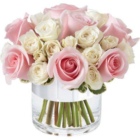 Elegante arranjo de rosas