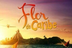 Cartaz novela Flor do Caribe