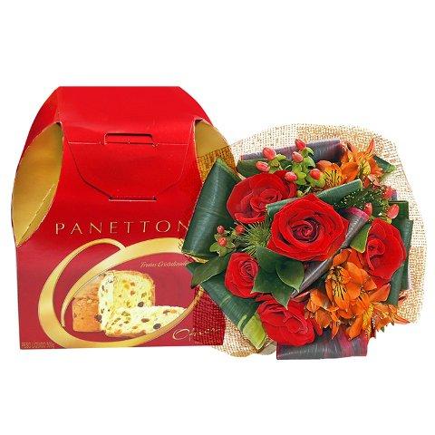 Flores e Panetone