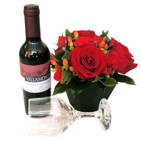 Flores e Vinho