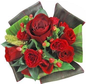Mini Buquê Paixão de Rosas