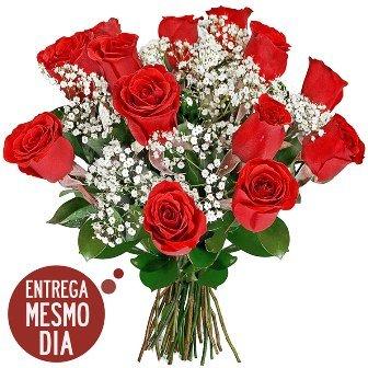 Buquê 12 Rosas Nacionais Belo Horizonte