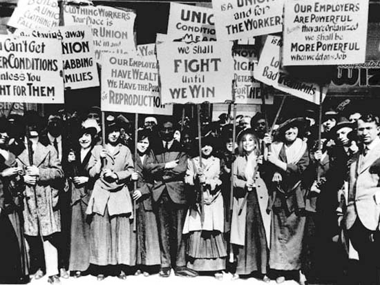 Luta das mulheres
