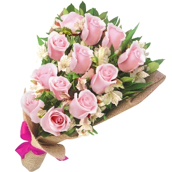 Buquê Clássico Amor Rosa