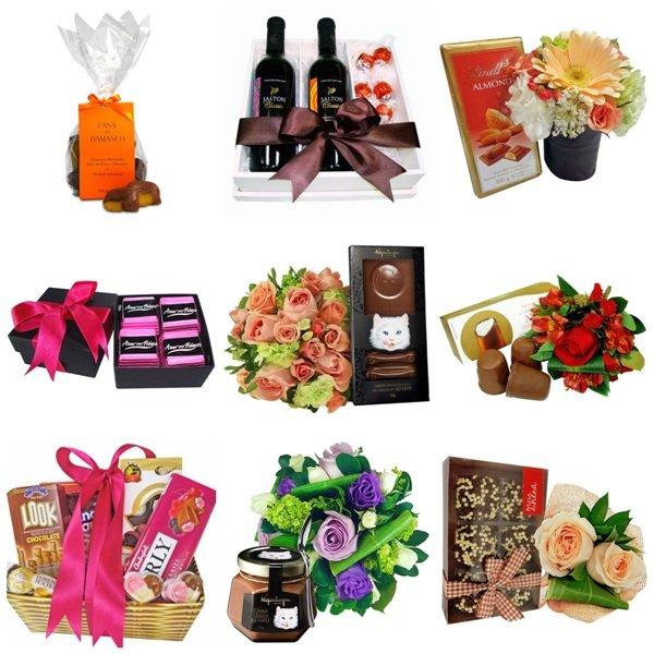 Chocolates e presentes