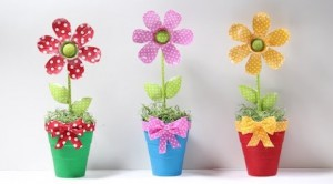 flores artificiais de plástico: passo a passo de de como fazer