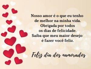 mensagem Valentine's Day- amor maior