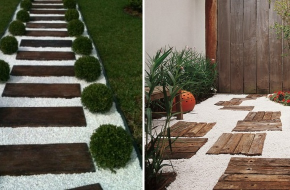 ideias caminhos jardim:Pisos E Caminhos Para Seu Jardim Pictures to pin on Pinterest