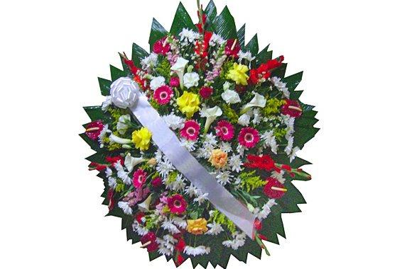 Coroa Flores Luxo