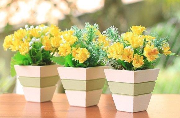 Arranjos de Flores Artificiais para Decorar a sua Casa Blog Giuliana Flores # Decoração Arranjos De Flores Artificiais