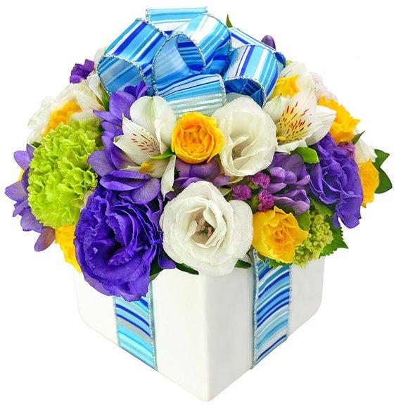 Presente de Flores Blue - Giuliana Flores