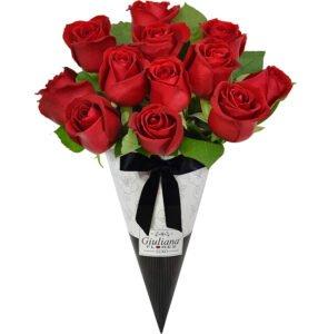 dia-do-beijo-cone-de-rosas-vermelhas-