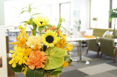 decorar a sala com flores