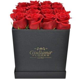Presentear Noivas - Sublime Premium de Rosas Vermelhas Black