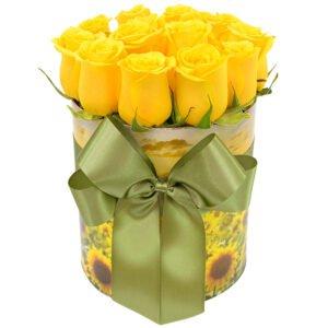 Pré Black Friday Giuliana Flores: Encantadoras Rosas Amarelas