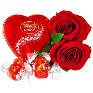 Janeiro do Amor - Rosas Colombianas com Lindt