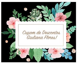 Cupom de Descontos Giuliana Flores