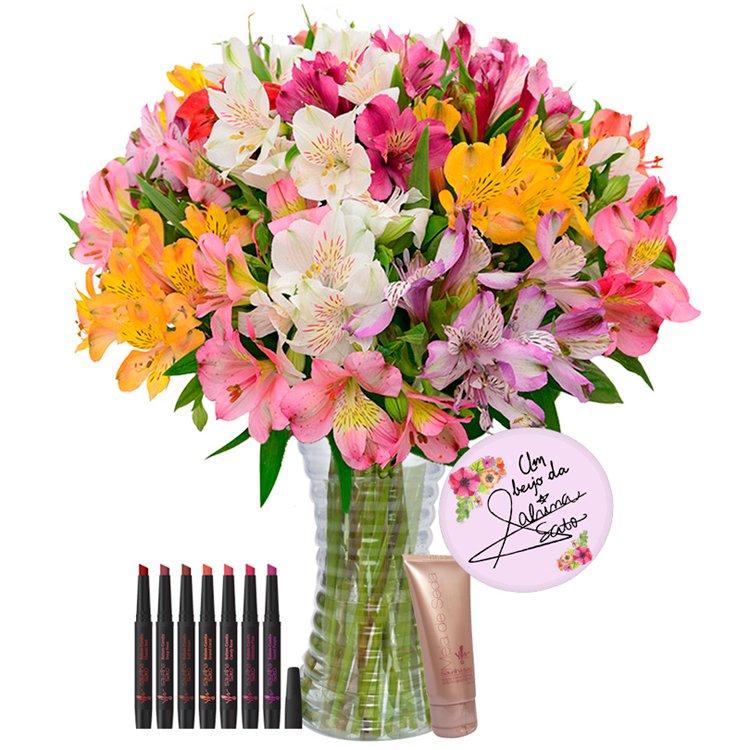 Coleção de Flores da Sabrina Sato: Luxuosas Astromélias Coloridas