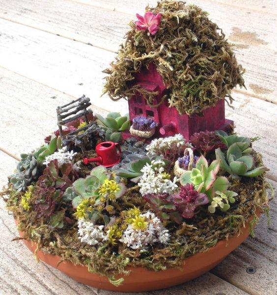 Flores Decorativas Para Recipiente Agua