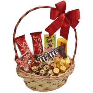 Dia da Família - Cesta Paixão Por Chocolates