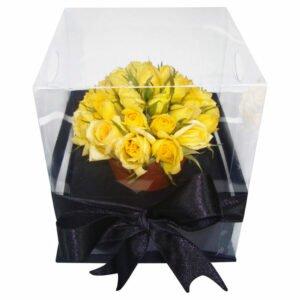 Dia da Amizade - Sutil Presente Amarelo