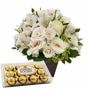 O Segredo da Flor Branca e Ferrero Rocher