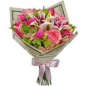 Buquê Encanto das Flores Pink Giuliana Flores