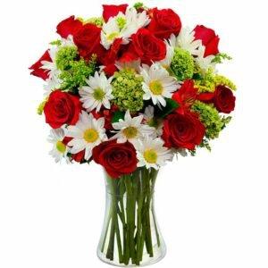Flores & Vida Vermelho