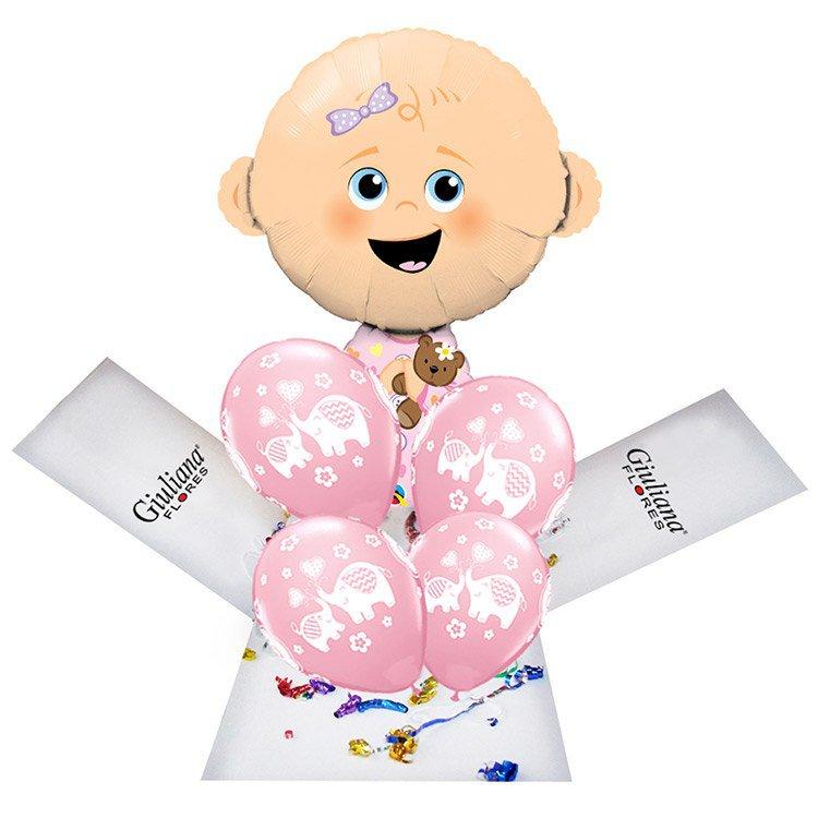 Encanthe Box Balões Chegou Menina
