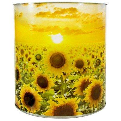 flores na lata para decorar
