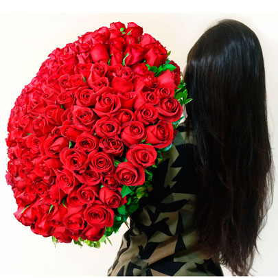 mega buquÊs 200 rosas