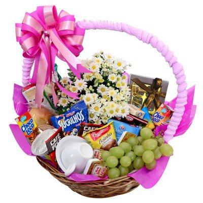 cestas de presente para as mães de nova viagem